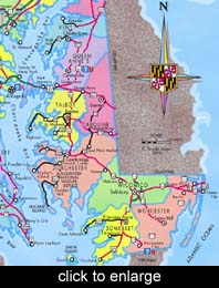 maps maryland eastern shore